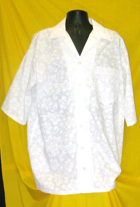 Hawaiian White Wedding Killer Tropicals Hawaiian Shirt Motherlode