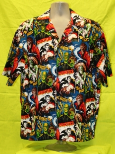 Skulls Party Bones Amp Mythical Dragons 187 Hawaiian Shirt
